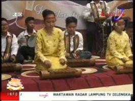 Lampung Gamolan Pekhing Festival 2016 SD FRANSISKUS 2 RAWA LAUT