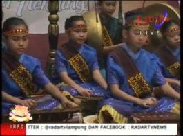 Lampung Gamolan Pekhing Festival 2016 SD XAVERIUS TELUK BETUNG